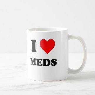 I Heart Meds Coffee Mug