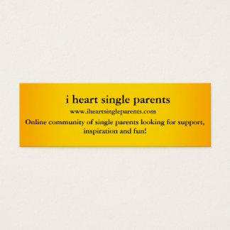 I heart meetup profile cards! mini business card