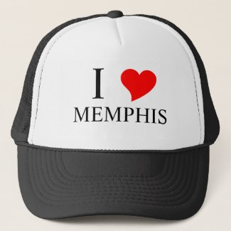 I Heart MEMPHIS Trucker Hat