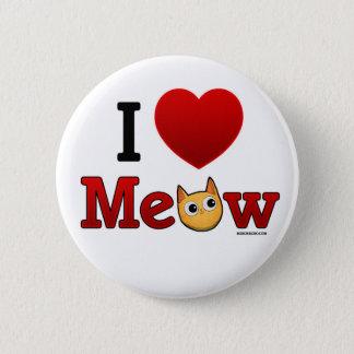 """""""I Heart Meow"""" """"I Heart Cats"""" Cat Pin"""