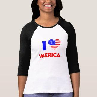 I heart merica tee shirt