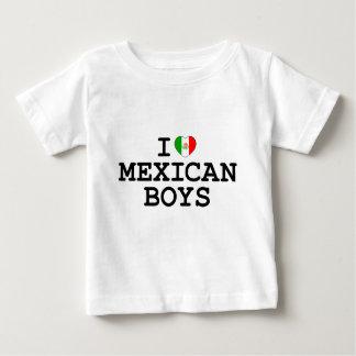 I Heart Mexican Boys Baby T-Shirt
