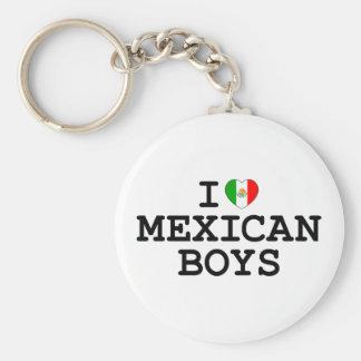 I Heart Mexican Boys Keychain