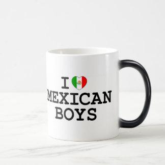 I Heart Mexican Boys Magic Mug