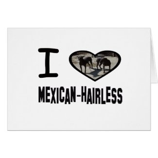 I heart Mexican-Hairless