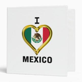 I HEART MEXICO BINDER
