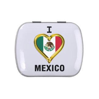 I HEART MEXICO CANDY TIN