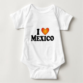 I (heart) Mexico - Lite Multi-Products Baby Bodysuit