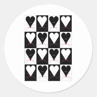 I Heart Mice Sticker