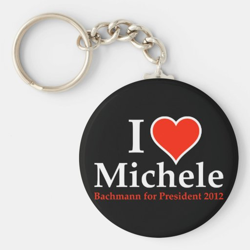 I Heart Michele Bachmann Keychain