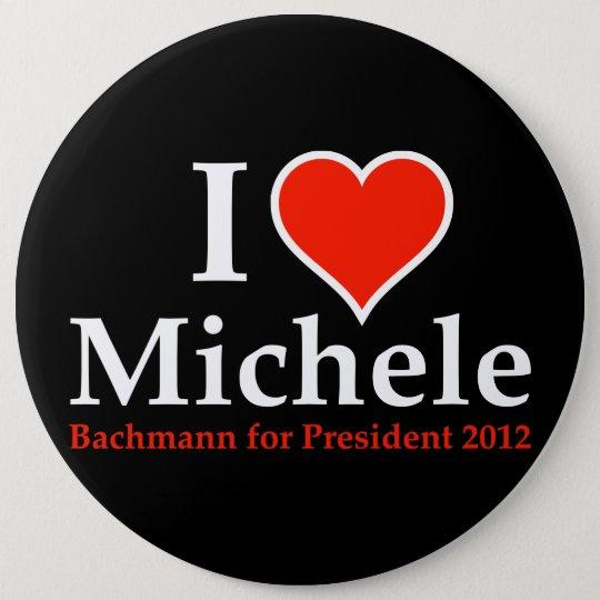 I Heart Michele Bachmann Pinback Button