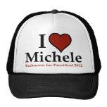 I Heart Michele Bachmann Trucker Hat