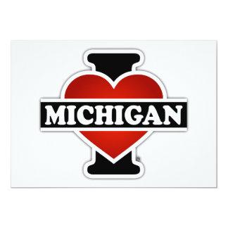 I Heart Michigan Card