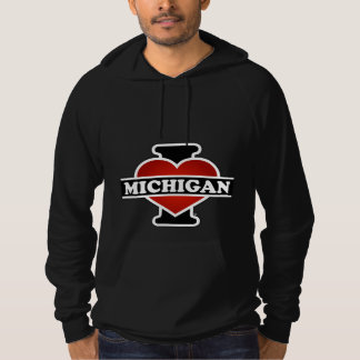 I Heart Michigan Hoodie