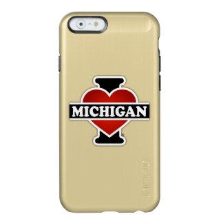 I Heart Michigan Incipio Feather® Shine iPhone 6 Case