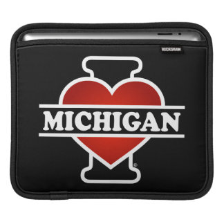 I Heart Michigan iPad Sleeve
