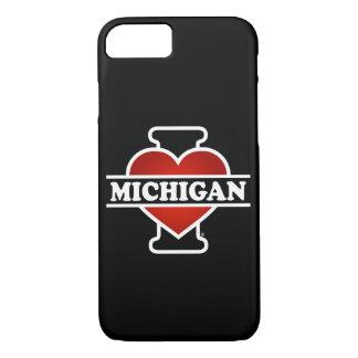 I Heart Michigan iPhone 7 Case