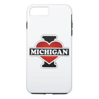 I Heart Michigan iPhone 7 Plus Case