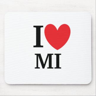 I Heart Michigan Mousepad