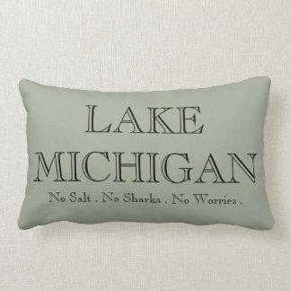 I heart Michigan Throw Pillow