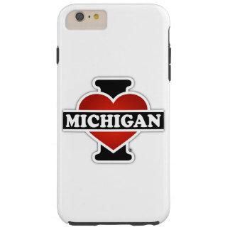 I Heart Michigan Tough iPhone 6 Plus Case