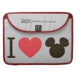 I Heart Mickey MacBook Pro Sleeve