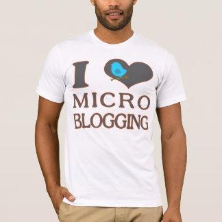 I Heart Micro Blogging T-Shirt
