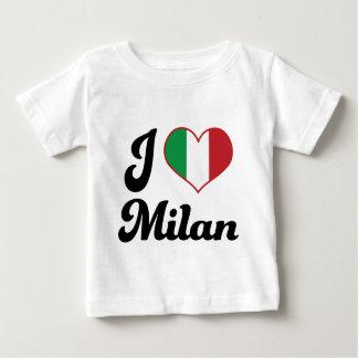 I Heart Milan Italy (Love) Baby T-Shirt