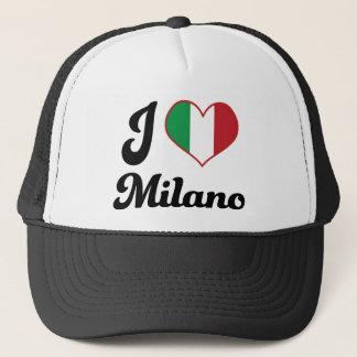 I Heart Milano Italy (Love) Trucker Hat