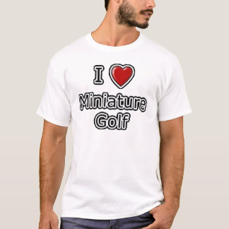 I Heart Miniature Golf T-Shirt