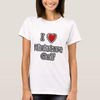 I Heart Miniature Golf T-Shirt