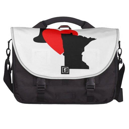 I Heart Minnesota Laptop Commuter Bag
