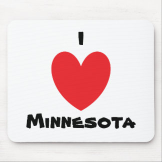 I Heart Minnesota Mousepad