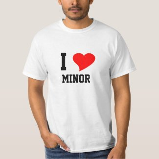 I Heart MINOR T-Shirt