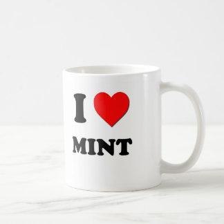 I Heart Mint Coffee Mug