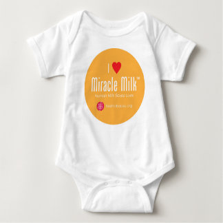 """I Heart Miracle Milk"" Baby Bodysuit"