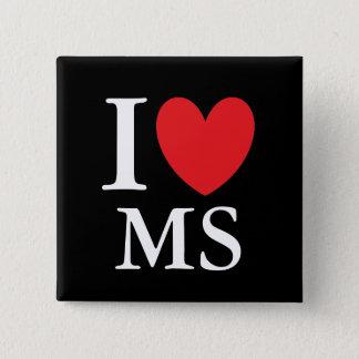 I Heart Mississippi Button