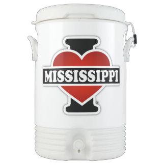 I Heart Mississippi Cooler