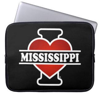 I Heart Mississippi Laptop Sleeve