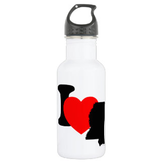 I Heart Mississippi Stainless Steel Water Bottle