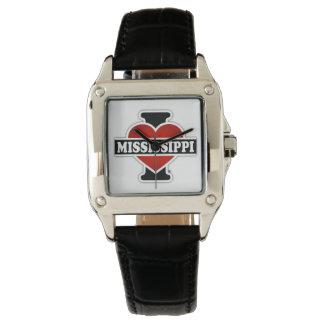 I Heart Mississippi Wristwatch