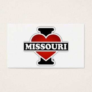 I Heart Missouri Business Card