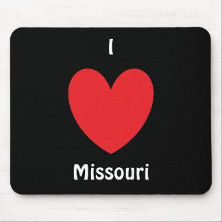 I Heart Missouri Mousepad