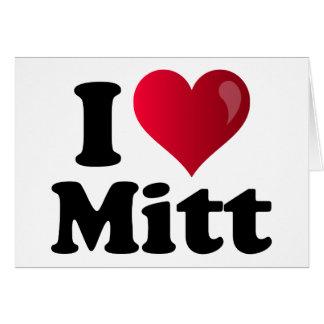 I Heart Mitt Card
