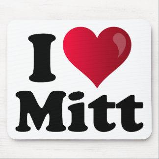 I Heart Mitt Mouse Pad