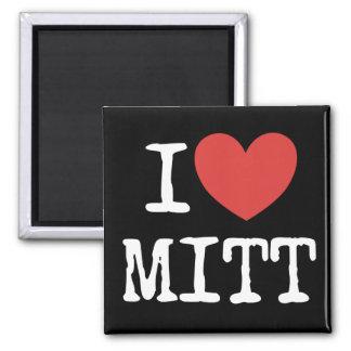I heart Mitt Romney 2 Inch Square Magnet