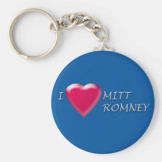 I Heart Mitt Romney Keychain