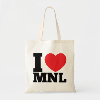 I Heart MNL Canvas Bags