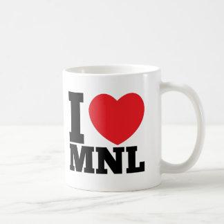 I Heart MNL Classic White Coffee Mug