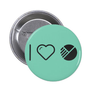 I Heart Modified Things 2 Inch Round Button